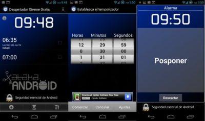 Despertador Xtreme, añade opciones a tu despertar