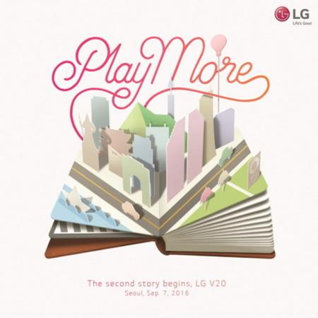 El LG V20 ya tiene fecha de presentación: 6 de septiembre