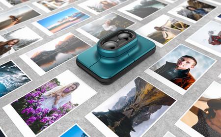 Print, un nuevo concepto de cámara híbrida digital e instantánea con un diseño moderno y atractivo