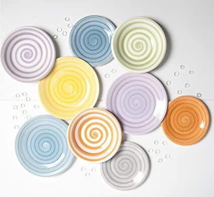 Vajilla de 18 platos modelo de Brunch Time