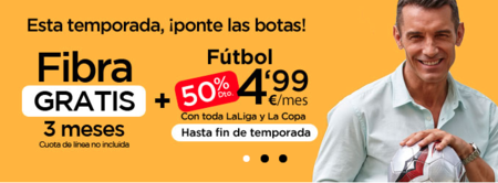 Jazztel se lanza a por el fútbol con Primera, Segunda, Copa y Partidazo por 4,99 euros