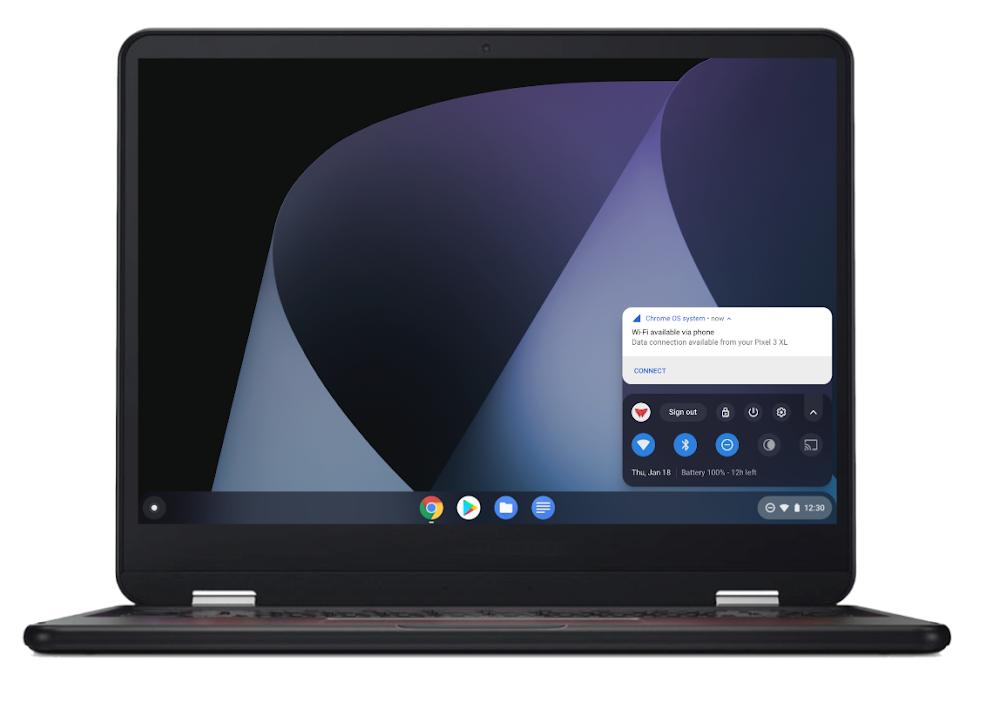 Google lanza Instant Tethering en 15 nuevos Chromebooks y más de 30 móviles Android