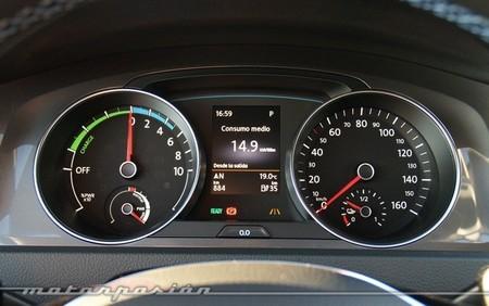 Volkswagen e-Golf cuadro de instrumentos