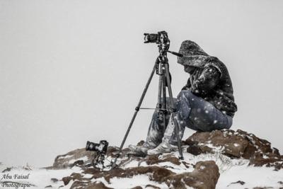 Esto es lo que algunos fotógrafos están dispuestos a hacer para conseguir la instantánea perfecta