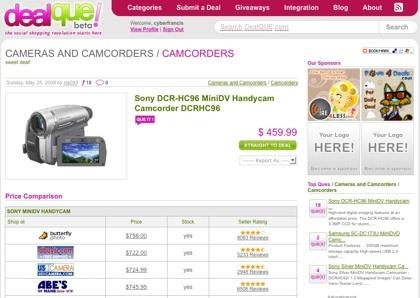 DealQUE, cazando las mejores ofertas de productos