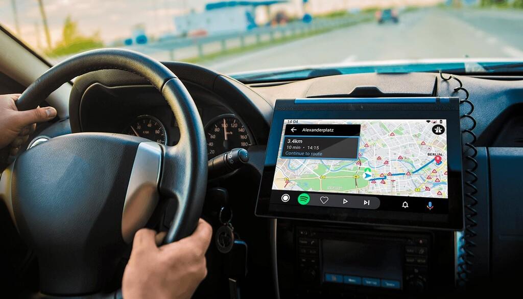 Android Auto adicción un mas reciente navegador GPS: Sygic ya es parecido con los vehículos