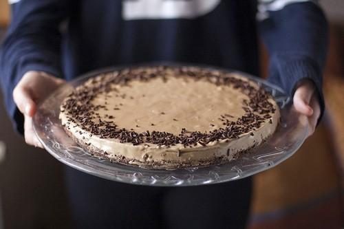 Tarta helada de café, el postre más fácil y delicioso aunque no seáis muy cafeteros