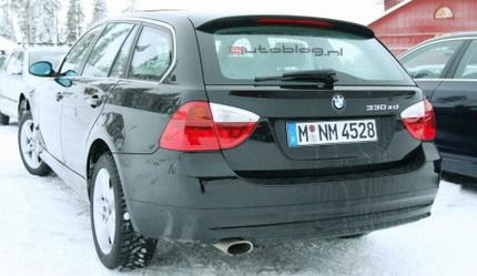 BMW Serie 3 Crossover, fotos espía