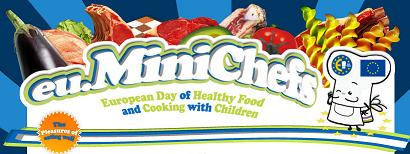 Mini chefs, web de la Unión Europea para enseñar alimentación a los niños