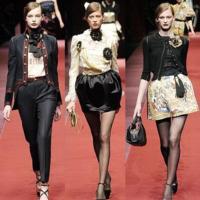 D&G Otoño-Invierno 2009/2010 en la Semana de la Moda de Milán