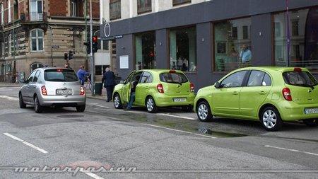 Nuevo Nissan Micra, presentación y prueba en Copenhague (parte 1)