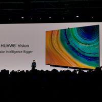 """Huawei Vision: el televisor inteligente o """"smartphone gigante"""" con cámara oculta, sonido 5.1 y resolución 4K"""