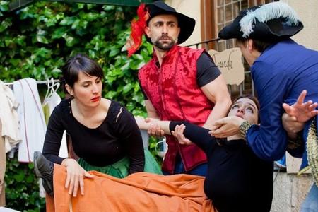 Letras y Espadas es el nombre de la ruta teatralizada junto a la Casa Museo Lope de Vega en Madrid