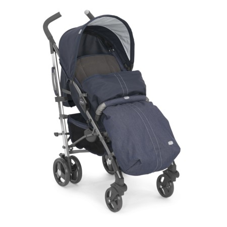 Silla De Paseo Lite Way Denim De Chicco