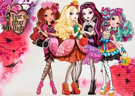Las nuevas muñecas de Mattel se llaman Ever after high y son las hijas de los protagonistas de los cuentos de hadas
