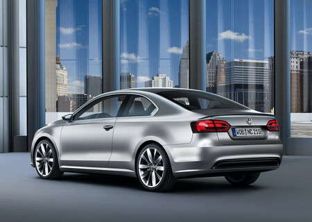 Volkswagen New Compact Coupe Concept Jetta Coupe MK6 5