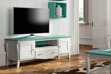 Mueble De Tv Provenzal Mediterraneo 150 Cm
