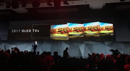 Presentación de los modelos de LG en el CES