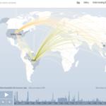 Esta página es capaz de mapear los ataques DDoS de todo el mundo en tiempo real