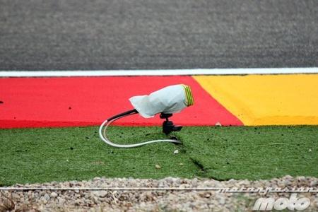 MotoGP Japón 2012: el sustazo de Marc Márquez durante el warm-up