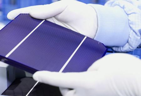 Celula Fotovoltaica Silicio Monocristalino