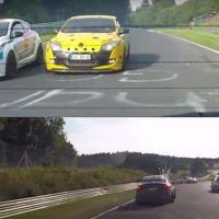 Plan extremo para estas vacaciones: slalom al límite entre coches en Nürburgring