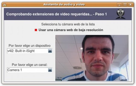 aMSN - WebCam