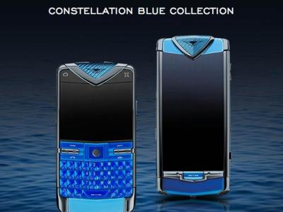 Vertu Constellation Blue y Constellation Quest Blue, lujo desmedido y prestaciones contenidas