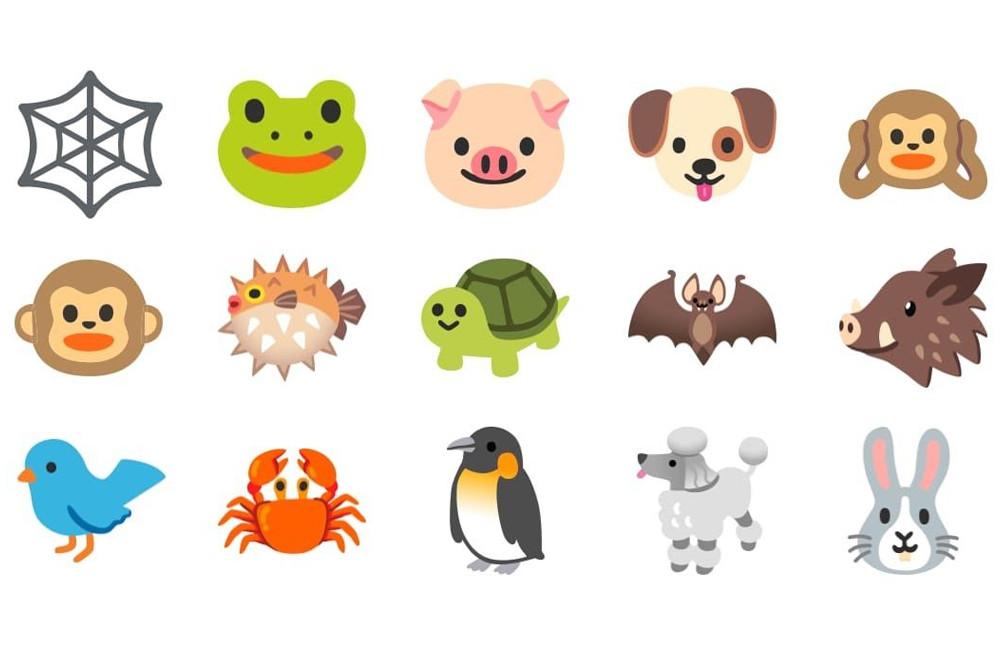 Android 11 presenta sus mas recientes emojis: rediseño de los animales y compatibles con el tema oscuro