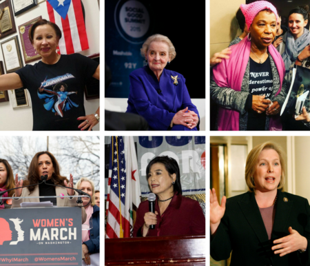 Estas 19 mujeres son las responsables de liderar la oposición contra Trump en Estados Unidos