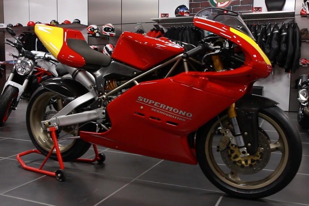 Foto de Ducati Supermono (1/12)