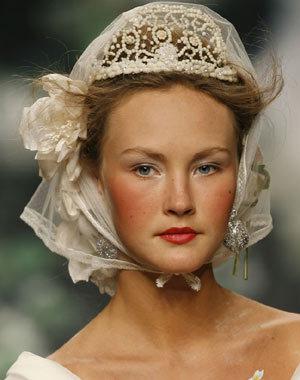 peinados novia gaudi