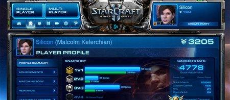 StarCraft II menú
