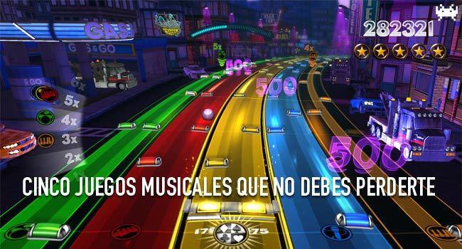 Cinco juegos musicales que no debes perderte