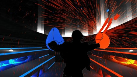 El ritmo no para en el primer gameplay del juego de realidad virtual Audioshield