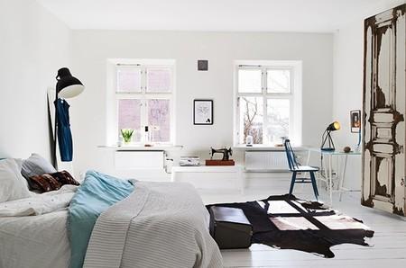 Puertas abiertas: detalles shabby chic en un apartamento de estilo nórdico