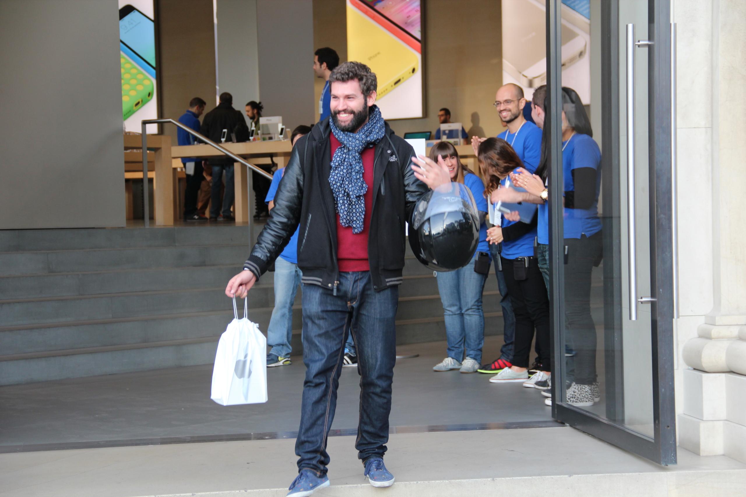 Foto de Lanzamiento del iPad Air en Barcelona (29/30)