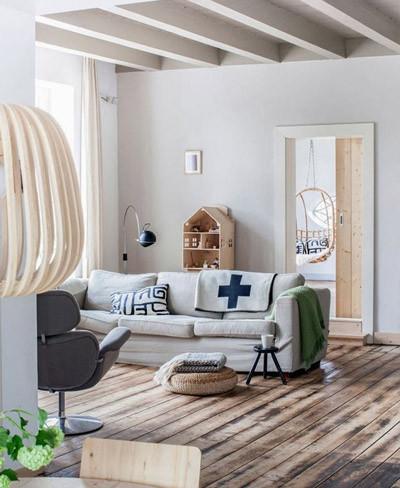 Preciosa vivienda en la que la madera es protagonista absoluta