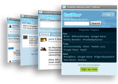 Twitter mejora su interfaz para móviles