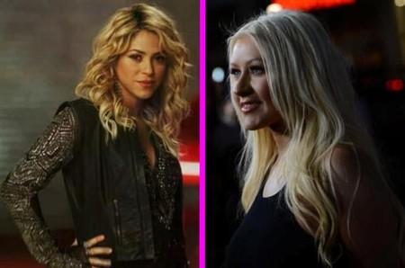 Shakira, pasea tranquila por The Voice que Christina Aguilera te guarda las espaldas