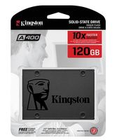 Disco duro SSD Kingston SSD A400 de 120GB por 36,50 euros y envío gratis