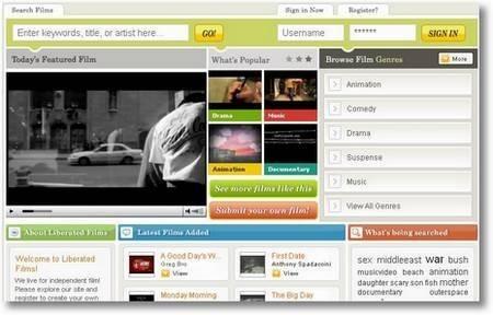 Liberated Films, ayuda a los cineastas independientes