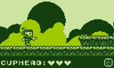 Así habría sido Cuphead en una Game Boy