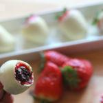 Idea para el Día de la Madre, fresas dos chocolates