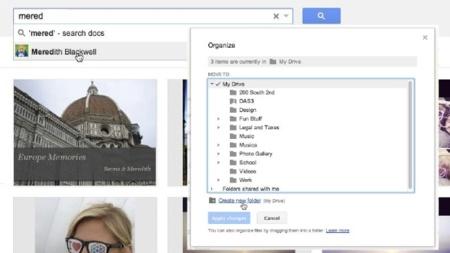 Google actualiza Drive con varias mejoras, entre ellas arrastrar y soltar carpetas desde Chrome