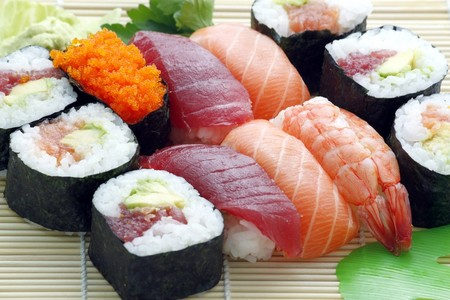 pescados crudos