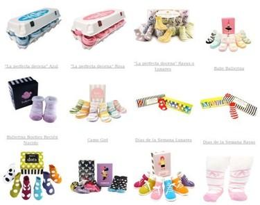 Originales calcetines y leotardos para bebés