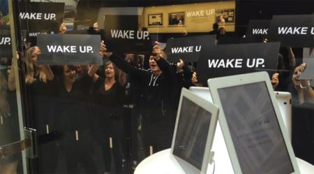 """¿Es RIM quien está detrás de la embarazosa campaña de protesta """"Wake Up""""? [Actualizado: Sí, es RIM]"""
