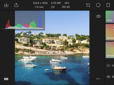 Polarr es el nuevo rival para los editores fotográficos más ambiciosos en Android