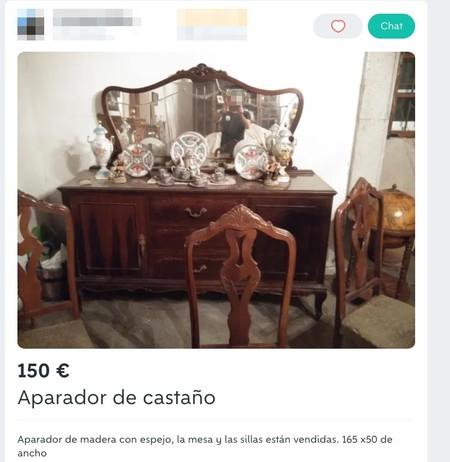 Window Y Aparador De Castano De Segunda Mano Por 150 Eur En Santiago De Compostela En Wallapop
